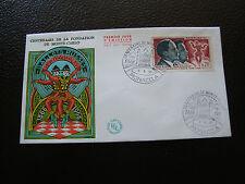 MONACO - enveloppe 1er jour 1/6/1966 (celebrites) (cy63) (A)