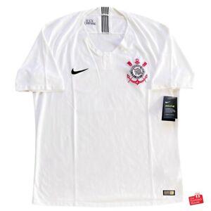 Nike Corinthians 2018/19 Player Issue Dri-Fit Home Jersey. BNWT, Size XL.