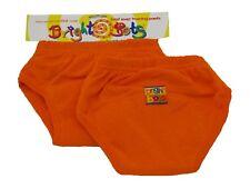 Bright Bots Washable Potty Training Pants (2pk, Orange, Small 12-18 months)