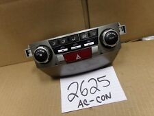 10 11 12 13 14 Subaru Legacy AC and Heater Control Used Stock #2625-AC