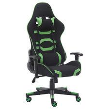 Chaise de Bureau Fauteuil Gaming Chaise en tissu Dossier Réglable Inclinable