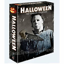 Halloween: Complete Movie Series Collection Blu-Ray Boxed Set Brand NEW!