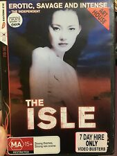 The Isle ex-rental region 4 DVD (2000 Korean drama / thriller movie) * RARE *