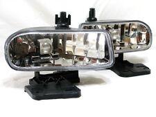 For 1999-2002 Sierra Driving Fog Light Lamp RL One Pair W/2 Light Bulbs New