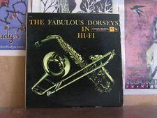 FABULOUS DORSEYS IN HI-FI - 2 LP C2L 8 SIX EYE LABELS