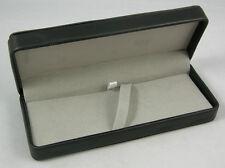 PREMIUM BLACK LEATHERETTE PEN GIFT BOX