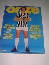 ONZE 1983 MAG MICHEL PLATINI JUVENTUS DECIBELS SUSIC FALCAO come ROMA & RUMMENIGGE