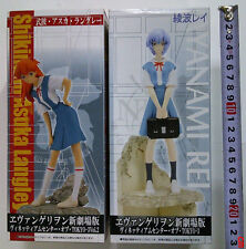 SEGA Figure Evangelion VIGNETTEUM CENTER TOKYO-3,#1 AYANAMI REI+#2 Asuka Langley