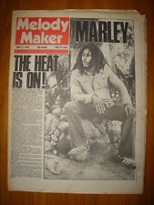 MELODY MAKER 1976 JUN 12 BOB MARLEY TANYA TUCKER BOWIE