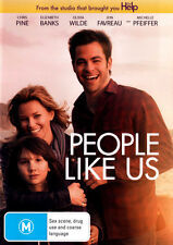 People Like Us  - DVD - NEW Region 4