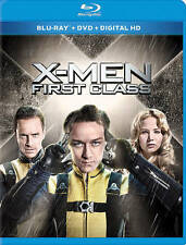 X-Men: First Class (Blu-ray/DVD, 2014, 2-Disc Set (Digital copy expired)