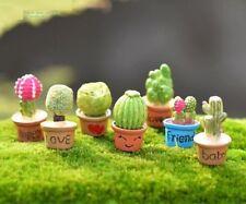 FD3535 Miniature Dollhouse Garden Craft Fairy Bonsai DIY Decor ~Cute Pots~ 1PC