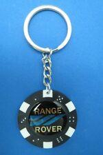 RANGE ROVER LOGO POKER CHIP DICE KEYRING KEY RING CHAIN #083