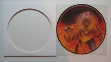 Iron Maiden picture lp disc Run to the hills The number of the beast UKpromo EMI