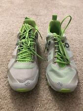 On Cloudracer Men Silver/Lime Size 8