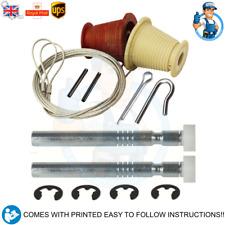 King Garage Door Cones, Cables, Roller Spindles Repair Kit Garage Door Spares