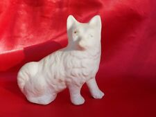 Antique Spitz White dog Samoyed Eskimo dog Classic Bisque dog Eskie *