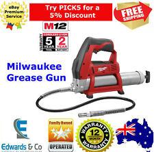 Cordless Grease Gun 12V 8000 PSI LI-ION 400ml Durabilility Milwaukee Skin Only