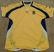 Vintage Puma Ukraine Soccer Jersey Mens Size Xxl