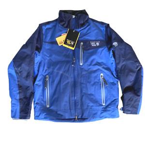 Mountain Hardware Slandia Ski Shell Jacket - Blue/Medium