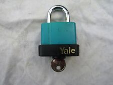 YALE PADLOCK FIH1 new no tags / packaging ( vintage!)