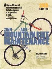 Zinn & the Art of Mountain Bike Maintenance, Zinn, Lennard, Good Condition, Book