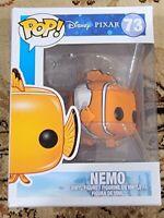 Funko Pop! Disney Pixar # 73 Nemo New In Box Vaulted Rare