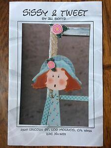 """Craft Wood Pattern """"Sissy & Tweet"""""""