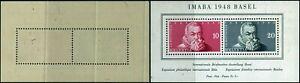 T052 Switzerland souvenir sheet Yvert # 13 mint never hinged