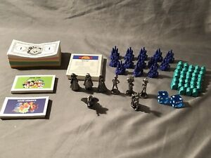 Monopoly The Disney Edition Board Game 2001 w/Collectible Disney Tokens money &