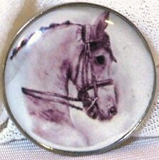 Fine Art Horse Snap Warmblood In Bridle 18-20Mm Some With Bubbles! Horse Gift!