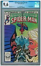 Spectacular Spider-Man #82 CGC 9.6 White Punisher Kingpin Cloak & Dagger app
