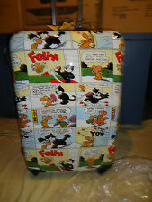 Luggage NEW Visionair Felix the Cat Comic Book'D Hardside Spinner 22-Inch