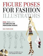 Figure Poses for Fashion Illustrators: Scan-ExLibrary