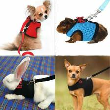 Dog Vest Harness & Leash For Small Animals Rabbits Ferrets Kitty Teacup Poodle