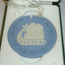 Wedgewood Ornament Sleigh signed Mike Hughes Master Craftsman