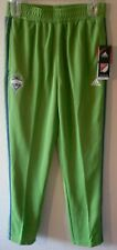 NWT Adidas Seattle Sounders FC Youth Boys Warm-Up Training Pants XL Green $45