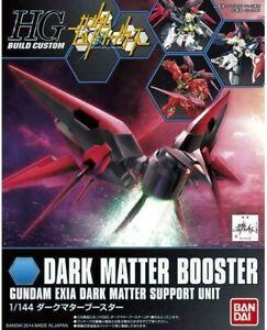 Bandai HG 1/144 Dark Matter Booster Gundam Exia Dark Matter Support Unit Model