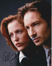 DAVID DUCHOVNY & GILLIAN ANDERSON signed THE X-FILES MULDER & SCULLY photo (1)