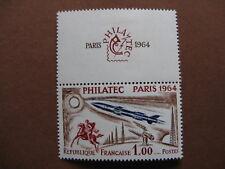 FRANCE neuf  n° 1422  PHILATEC avec très légère trace de charnière