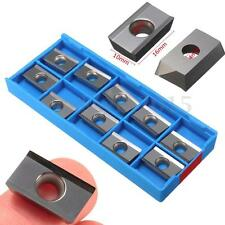 10Pcs Carbide Insert APKT1604PDFR-MA H01 Lathe Turning Tool For Aluminum Alloy
