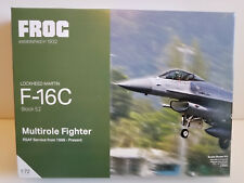 1:72 FROG Models F-16C Fighter (RSAF) Royal Singapore Air Force-Block 52 (NEW)