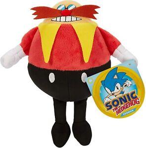 "Sonic The Hedgehog Eggman 7"" Plush Figure Jakks Pacific Brand New w/ Tag"