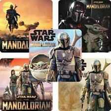 20 Mandalorian Stickers Party Favors Supplies Birthday Baby Yoda Loot Treat Bags