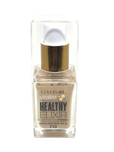 COVERGIRL Vitalist Healthy Elixir Foundation 710 Classic Ivory *OUT OF DATE 2019