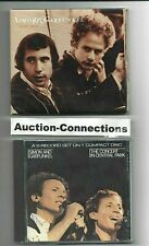 SIMON & GARFUNKEL - Live 1969 ~&~ Concert in Central Park - 2 CD Lot - Paul Art