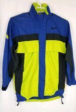 Men's Nike ACG Clima-Fit Jacket Windbreaker Green Blue Black Hooded Size M