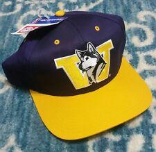 Washington Huskies Vintage 90s Snapback hat NFL Tags Twins Enterprise NWT New WA