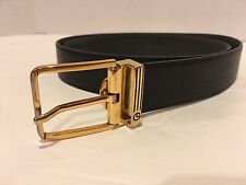 Goldlion Leather Belt & Buckle Made in Italy 29