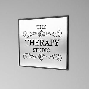 20cm x 20cm Office Wall Sign, Custom Engraved , Plaque, Shop Name.